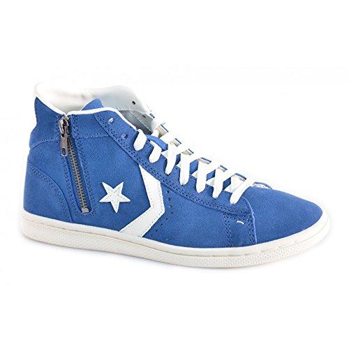 Converse - Converse Pro Ltr Mid Pac Pacific Scarpe Blu Pelle Scamosciata 141606C