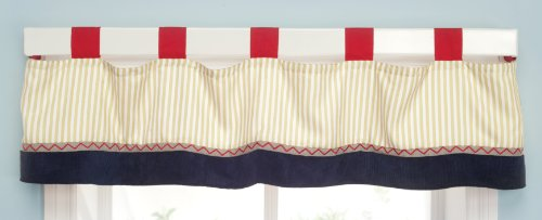 Kids Line Valance, Robots Play (Discontinued by Manufacturer) - 1
