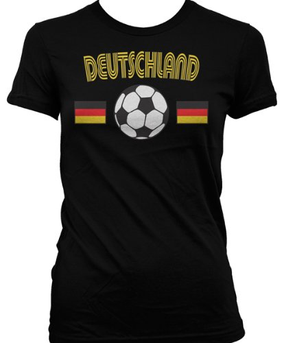 Deutschland Flags International Soccer Juniors T-shirt, Germany Soccer Juniors T-shirt