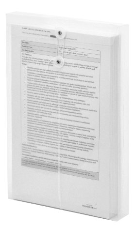Lion String-A-Long Clear Poly Envelopes with Gusset, Legal, Top Load, 6 EA/Pack, 1 Pack (32500-CR) (Poly Envelope Top Load compare prices)
