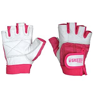 Grizzly Fitness Breast Cancer Training Gloves, X-Small