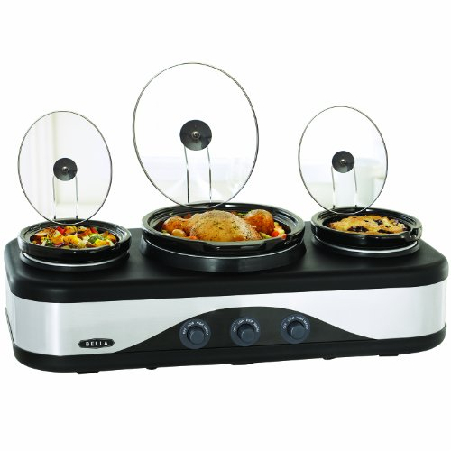 Multi-Size Triple Slow Cooker