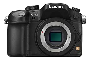 Panasonic Lumix DMC-GH3K 16.05 MP Digital Single Lens Mirrorless Camera with 3-Inch OLED - Body Only (Black)