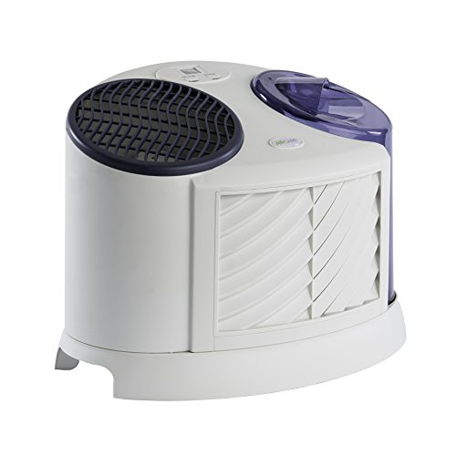 AIRCARE 7D6 100 4-Speed Table Top Evaporative Humidifier, Grey - 1