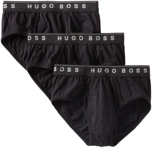 BOSS Hugo Boss 男式纯棉三角裤,三条装