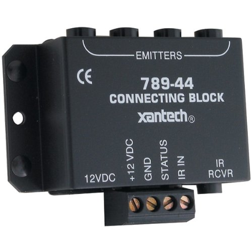 "Xantech 1-Zone Connecting Block (Without Power Supply) ""Product Type: A/V Distribution/A/V Dist"