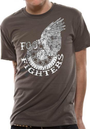 T-Shirt Winged Foo Fighters-- --MB-A4-LL-X-LARGE, CID