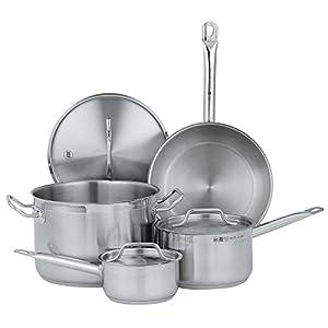 Vollrath 3822 Stainless Steel Deluxe Optio Cookware Set, 7-Piece