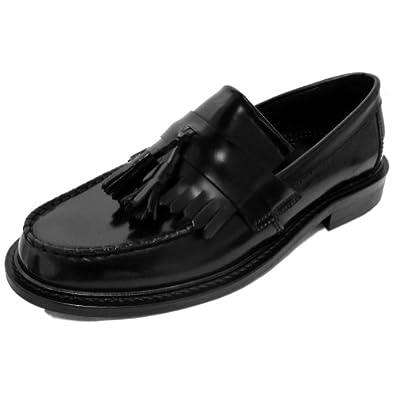 ikon mocassins glands selecta style ska homme noir chaussures et sacs. Black Bedroom Furniture Sets. Home Design Ideas