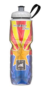 Polar Bottle Insulated Water Bottle (Arizona) (24 oz) - 100% BPA-Free Water Bottle - Perfect Cycling or Sports Water Bottle - Dishwasher & Freezer Safe