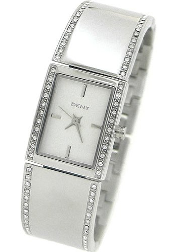 DKNY Silver Dial Stainless Steel Bangle Ladies Watch NY8241