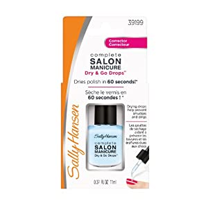 Sally Hansen Salon Manicure Nail Treatment, 0.37 Fluid Ounce