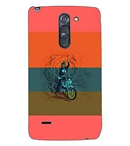 PRINTSWAG SKELETON Designer Back Cover Case for LG G3 STYLUS