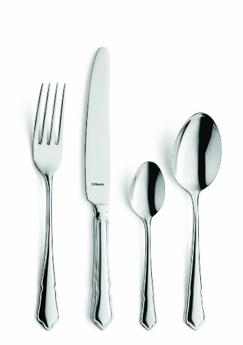 Amefa Monogram Dubarry Cutlery Set Stainless Steel 24 Piece