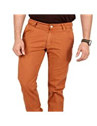 Zaab Men's Slim Fit Trouser