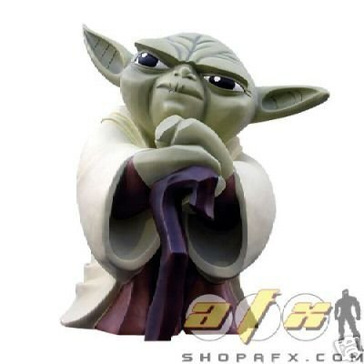 Star Wars Clone Wars Yoda Monument - Buy Star Wars Clone Wars Yoda Monument - Purchase Star Wars Clone Wars Yoda Monument (Gentle Giant, Toys & Games,Categories,Action Figures,Statues Maquettes & Busts)