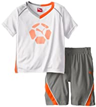 PUMA Little Boys' Boy Team Perf Set