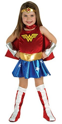 Super Dc Heroes Wonder Woman Toddler Costume front-10274
