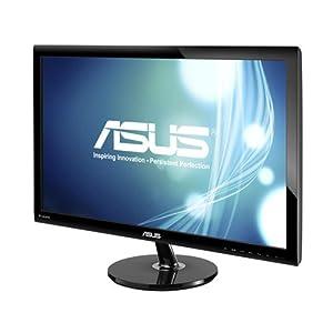 Asus VS278Q 68,6 cm (27 Zoll) Monitor (VGA, HDMI, 1ms Reaktionszeit) schwarz