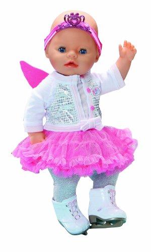 Zapf Creation 818213 - Baby born Deluxe Set Eiskunstläuferin