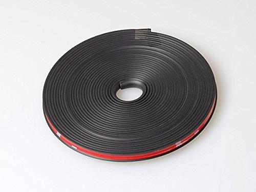 黒 ホイールガード リムガード リムライン リムプロテクター リム傷隠し リム傷防止 ドレスアップ等に 6m-7m 1ロール 1台分