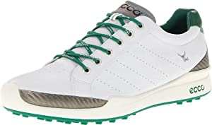 ECCO Men's Biom Hybrid Golf Shoe,White,46 EU/12-12.5 M US