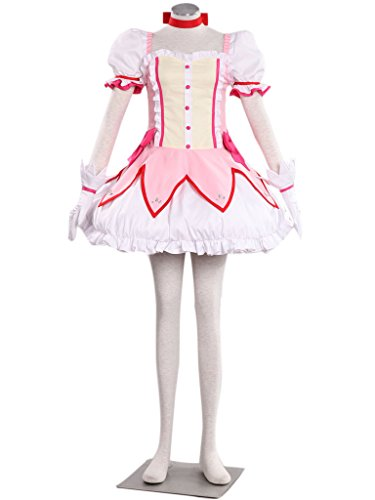 [Dazcos Puella Magi Madoka Magica Kaname Madoka Cute Party Cosplay Costume (Medium)] (Puella Magi Madoka Magica Madoka Kaname Cosplay Costume)
