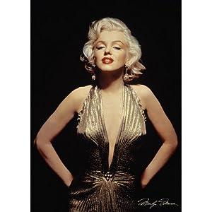 Marilyn Monroe - Gold Dress - 24x36 Poster Movie Poster Print, 24x34