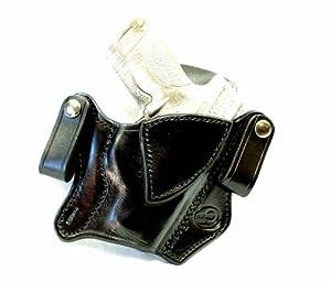 0175 - S&W M&P Shield 40 cal NO Laser IWB Dual Snap Holster R/H Black