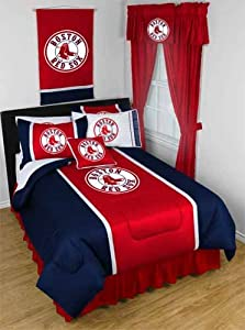MLB Boston Red Sox Sidelines Bedding - Comforter by MLB