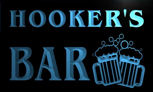 w002017-b-hookers-nom-accueil-bar-pub-beer-mugs-cheers-neon-sign-biere-enseigne-lumineuse