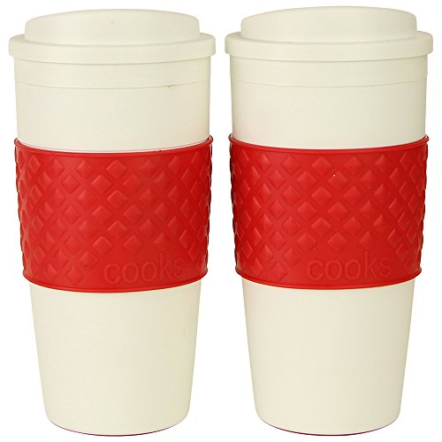 Great Deal! Cooks Hot Thermal Tumbler (2-Pack) (Red)