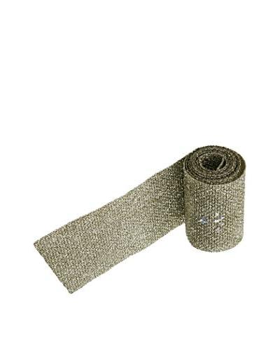 Winward Handcrafted Glitter Mesh, Platinum