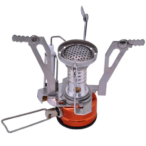 Patuoxun® Mini Backpacking BBQ Camping Stove with Piezo Ignition
