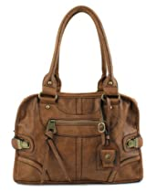 Hot Sale Scarleton Large Satchel H106804 - Brown