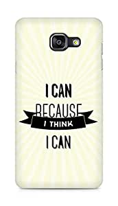 Amez I Can because I Think Back Cover For Samsung Galaxy A5 2016