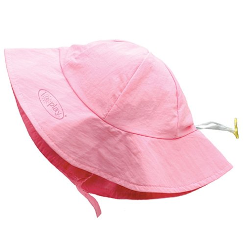 i play. Sold Brim Sun Protection Hat, Light Pink, Infant (6-18 Months)
