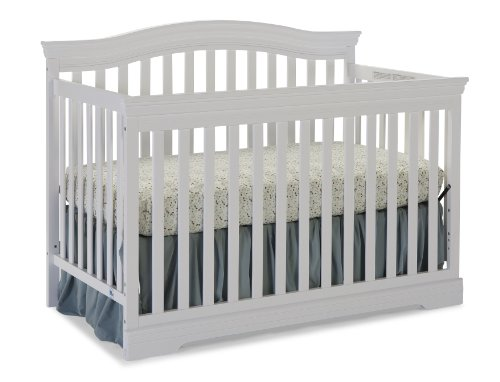 Broyhill Kids, Bowen Heights 4-in-1 Convertible Crib, White