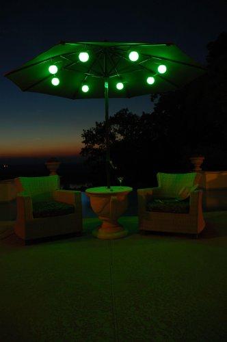 Patio Living Concepts8 Globe Color Changing Umbrella Light