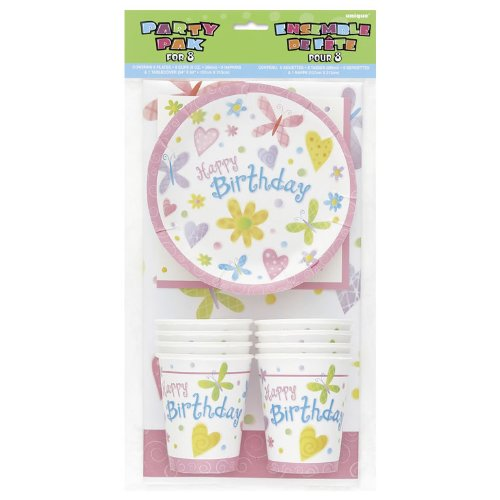 Cute Birthday Party Pak for 8