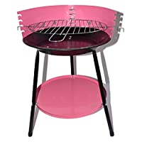St. Millers Portable Barbecue Grill MD8024, 1Pc,Pink