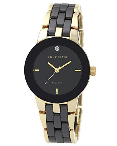 anne-klein-womens-quartz-watch-with-black-dial-analogue-display-and-black-ceramic-bracelet-ak-n1610b