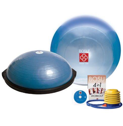 Bosu Ball Original: Bosu Balance Trainer And Ballast Ball Combo Kit
