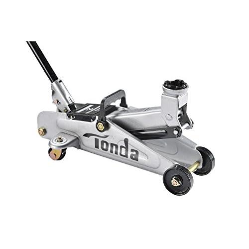 TONDA 2 Ton Capacity Garage Floor Jack Heavy Duty, Quick Lift(The max height 13.4 inches)
