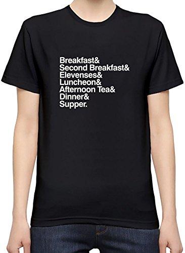 The Hobbit Meals T-Shirt per Donne XX-Large