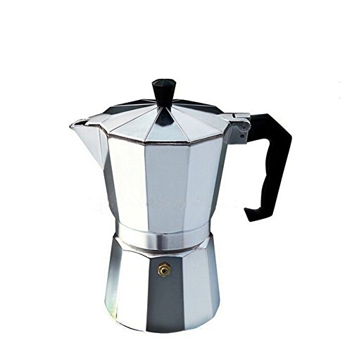 Italian Coffee Maker Aluminum : Aluminum Italian Style 3 Cup Stove Top Espresso Coffee Maker Moka Pot Machine Coffee Outlet Direct