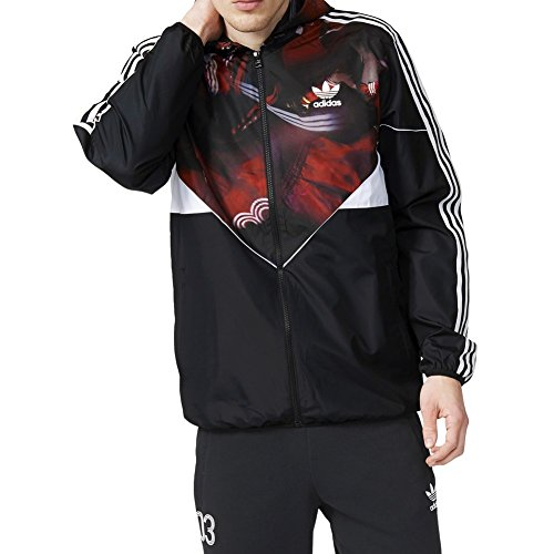 Giacca A Vento  adidas - Classic Team Colorado nero formato: M (Medium)