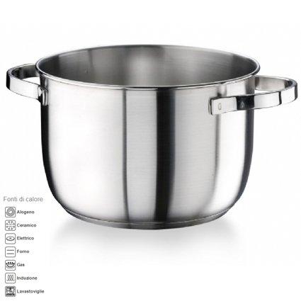PENTOLA diametro 20cm 4lt ACCIAIO INOX satinato della Pintinox modello Royal MADE IN ITALY anche per cucina ad induzione