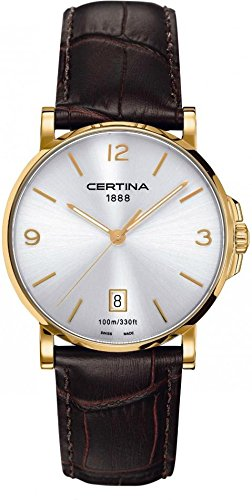 Certina DS Caimano C017.410.36.037.00 Mens Wristwatch Classic & Simple