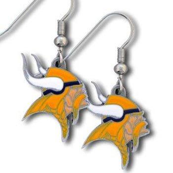 Minnesota Vikings Dangling Earrings